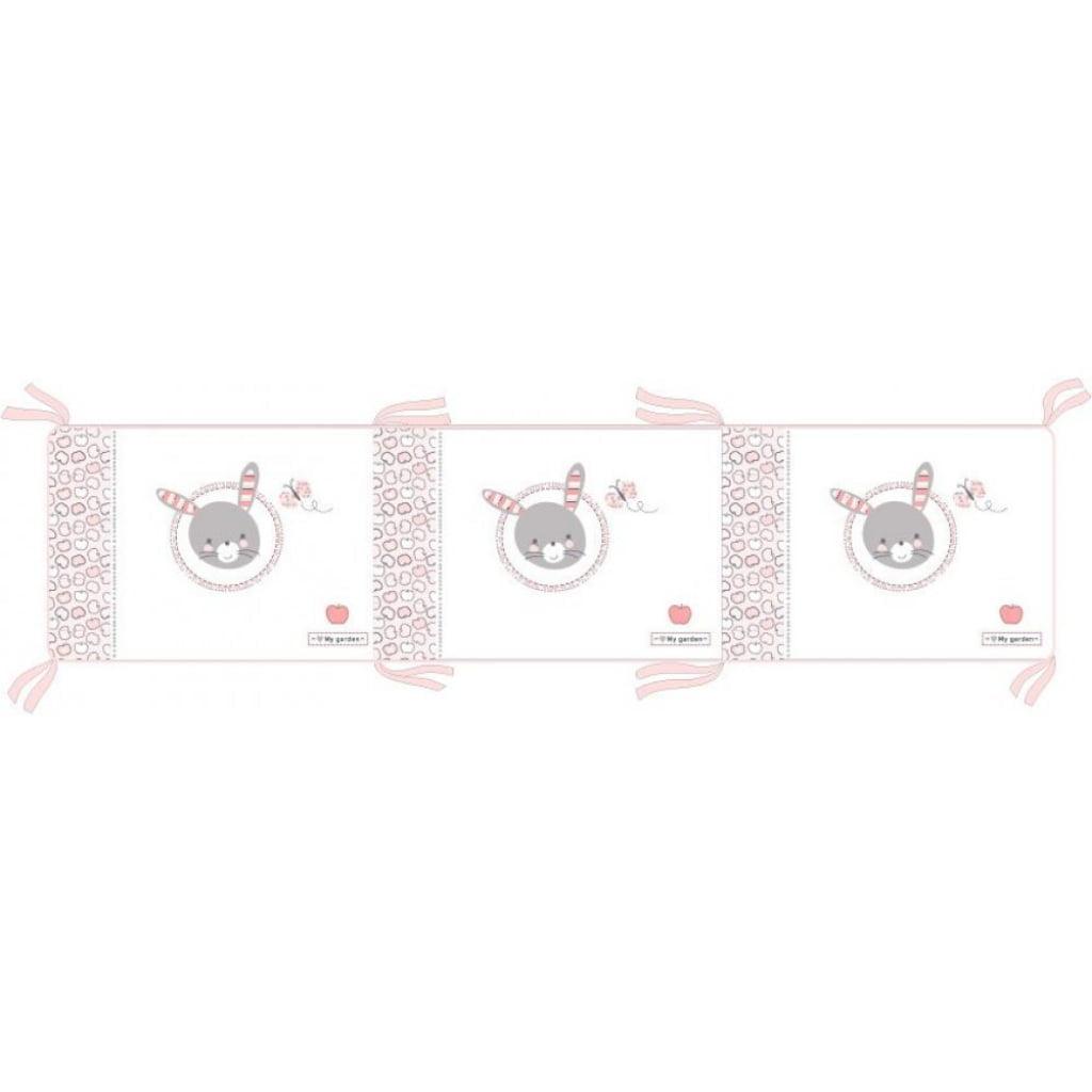 Kikka boo zaštitna ogradica Pink Bunny 210 cm