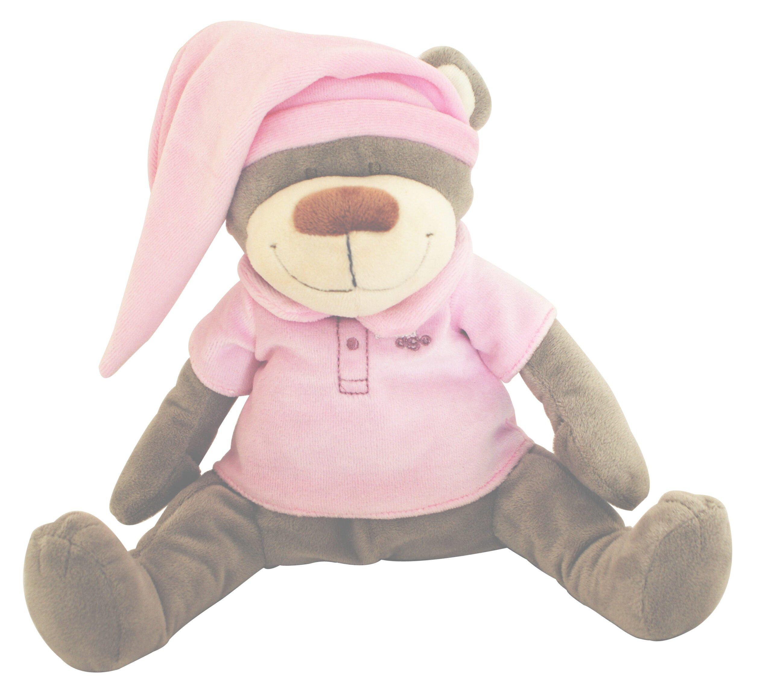 DooDoo glazbena igračka Bear Pink