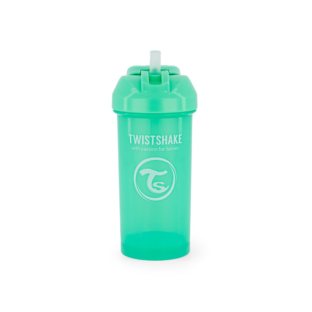 Twistshake bočica sa slamkom 360ml Pastel Green