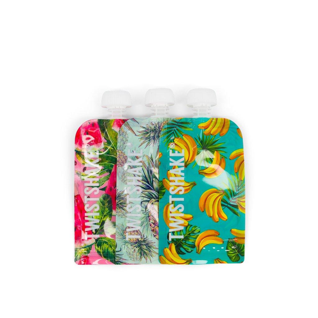 Twistshake Squeeze vrećice 220ml 3kom