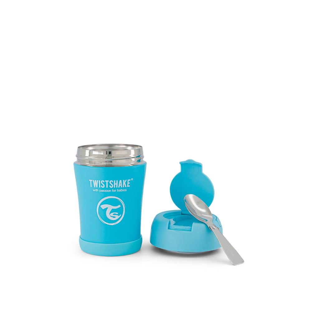 Twistshake termo posudica za hranu 350ml Blue