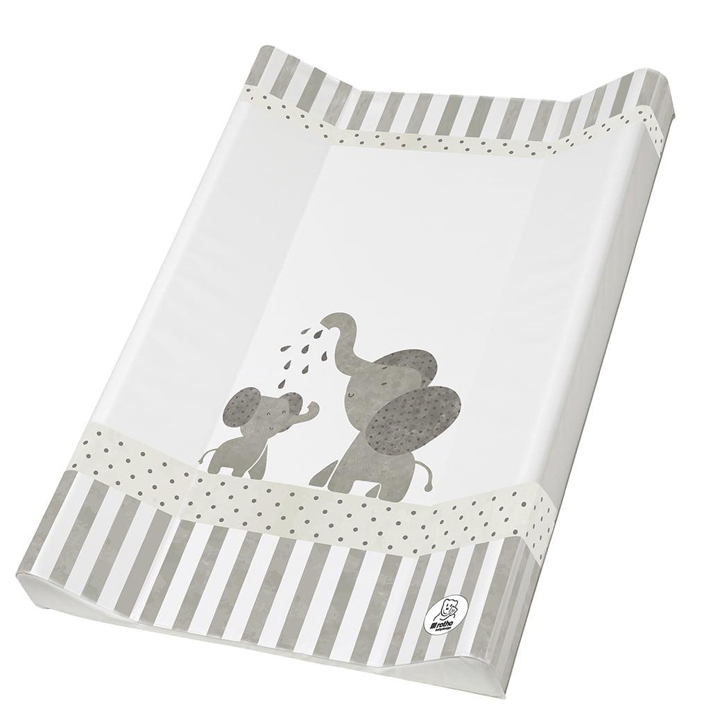 Rotho Babydesign podloga za previjanje Modern Elephants 50x70cm