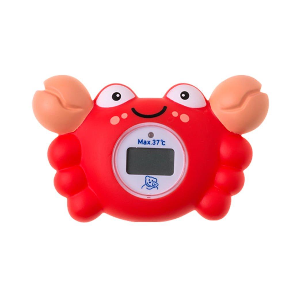 Rotho Babydesign digitalni termometar za kadicu Crab Red