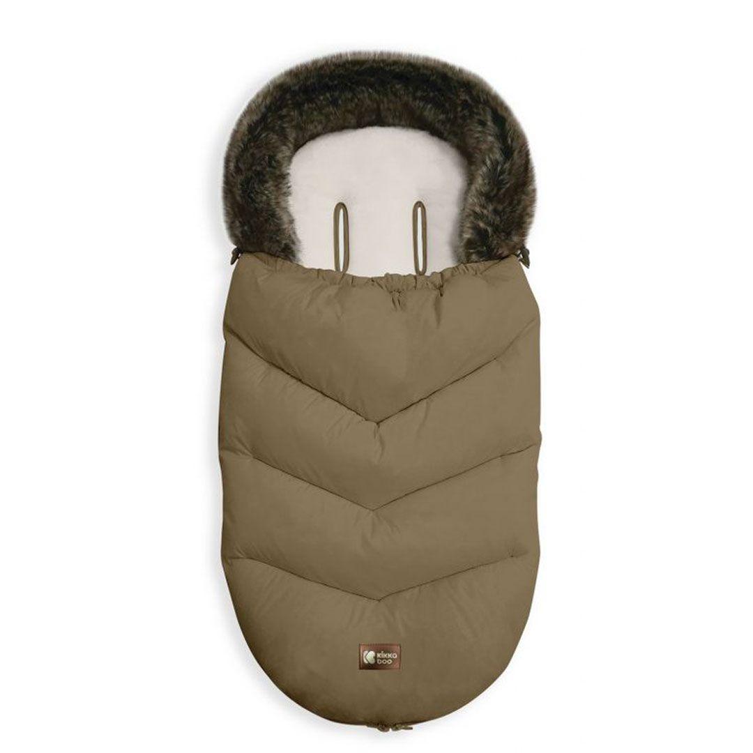 Kikka boo zimska vreća za kolica Luxury Fur Beige