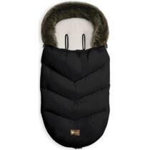 Kikka boo zimska vreća za kolica Luxury Fur Black01