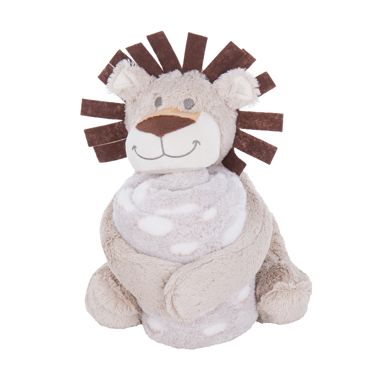 Kikka boo deka + igračka Leo  70 x 100