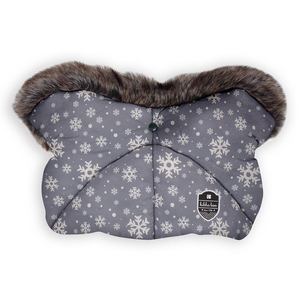 Kikka boo zimske rukavice za kolica Snow Flakes