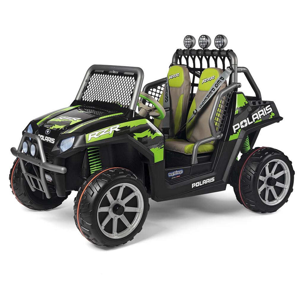 Peg Perego vozilo na akumulator Polaris Ranger RZR Green Shadow