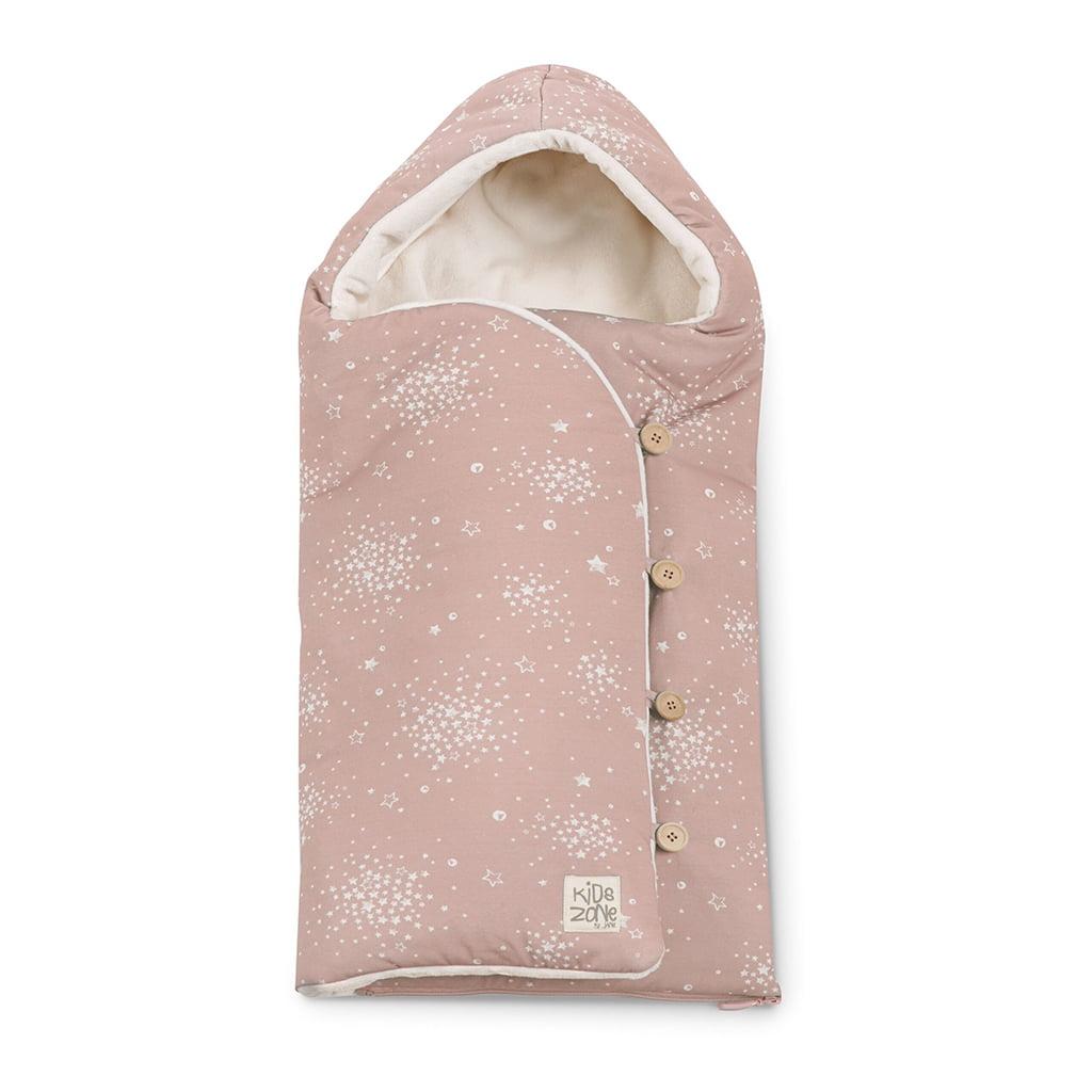 Jane zimska vreća za kolica Mims+ Boho Pink