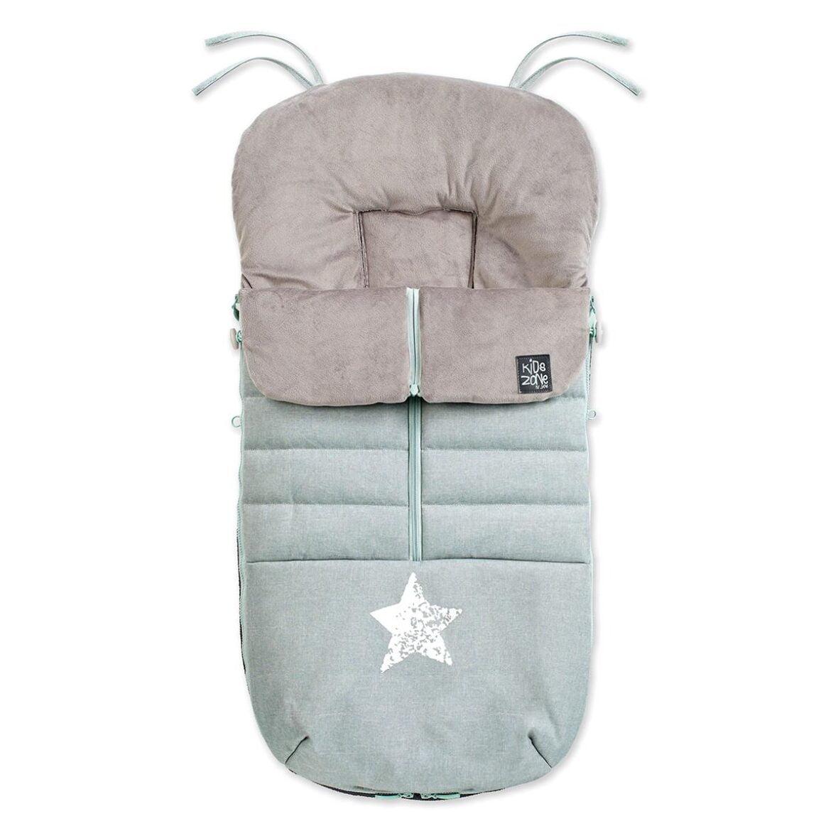 Jane zimska vreća za kolica Nest Aquarel Blue