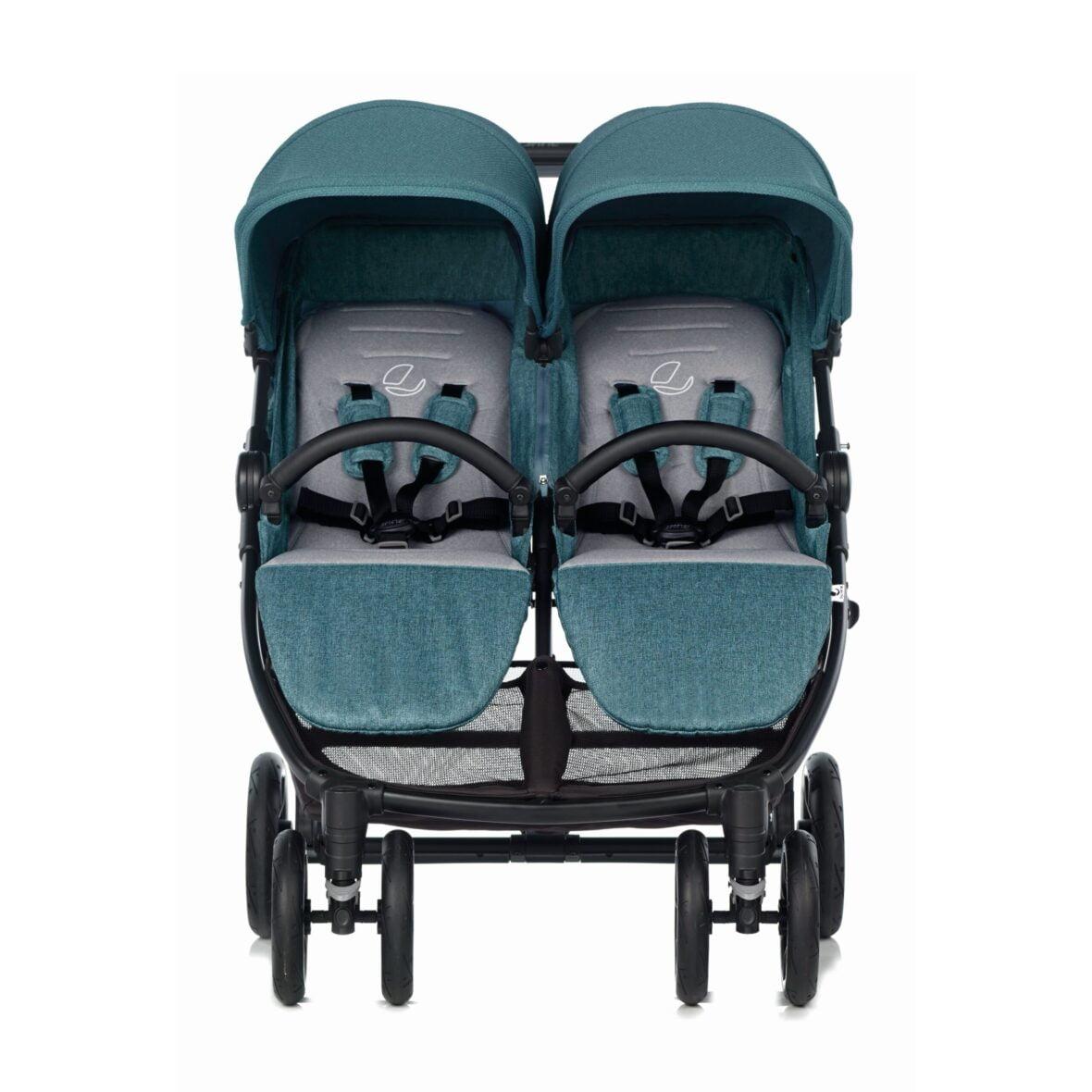 Jane kolica za blizance Twinlink Mild Blue