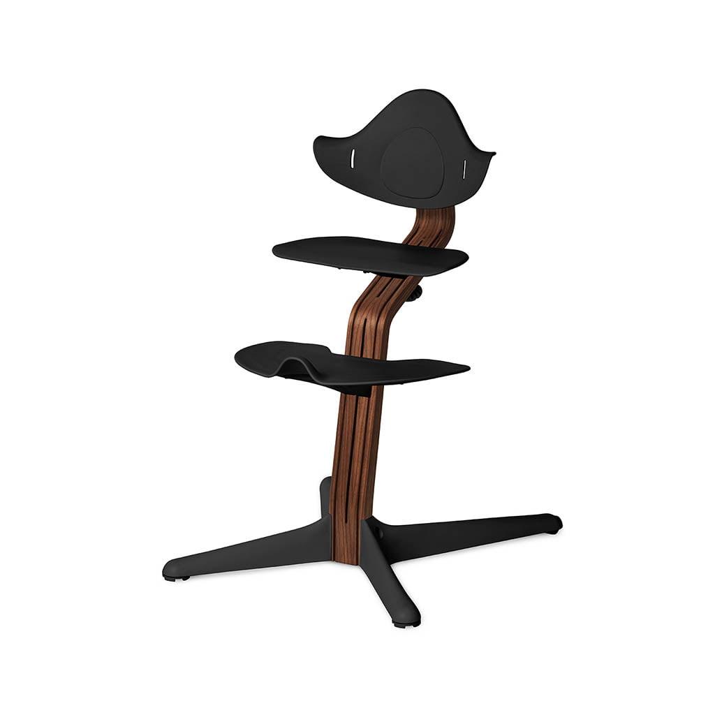Nomi Dječja stolica, Crna + Nomi Premium baza Uljeni orah