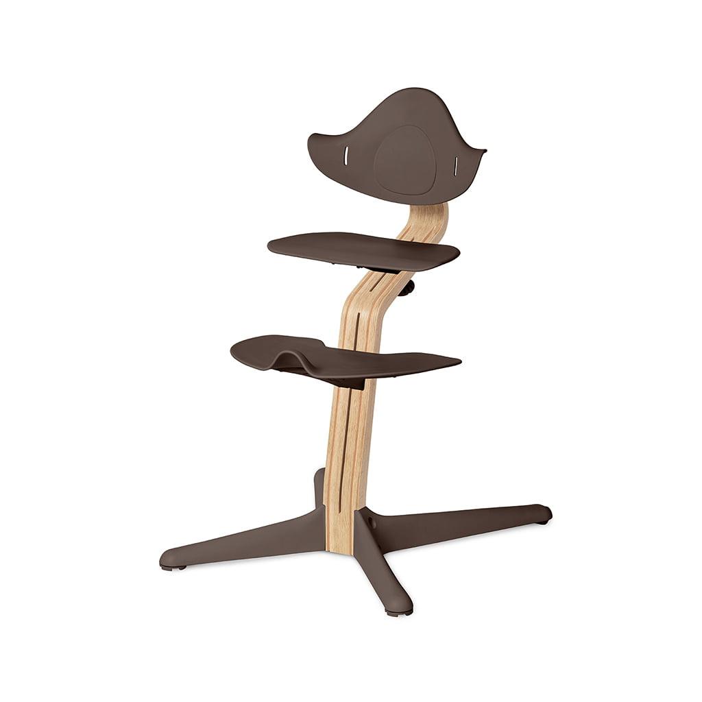 Nomi Dječja stolica, Smeđa + Nomi Standardna baza Uljena bijela