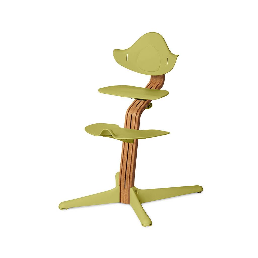 Nomi Dječja stolica, Zelena + Nomi Premium baza Uljeni hrast