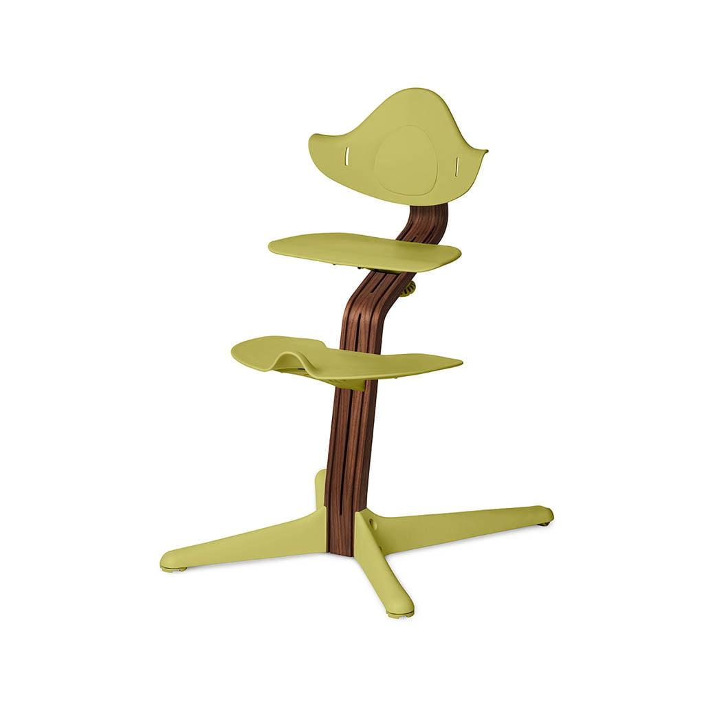 Nomi Dječja stolica, Zelena + Nomi Premium baza Uljeni orah