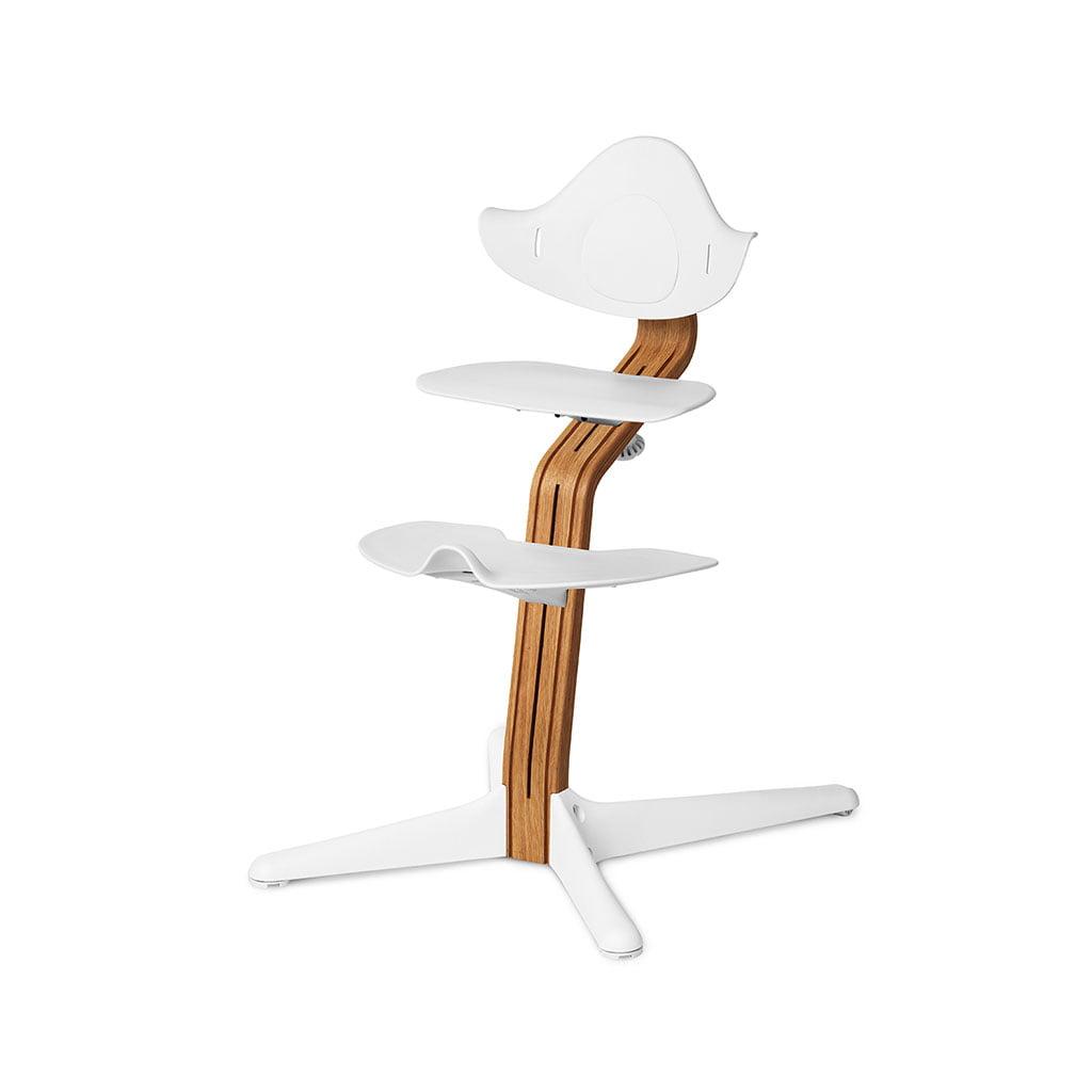 Nomi Dječja stolica, Bijela + Nomi Premium baza Uljeni hrast