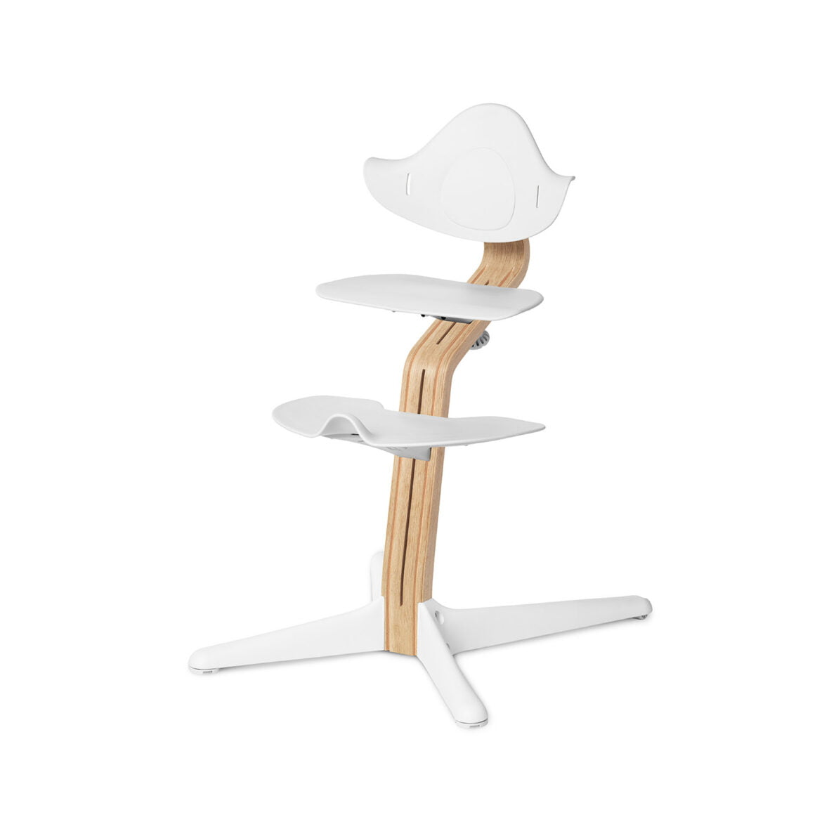 Nomi Dječja stolica, Bijela + Nomi Standardna baza Uljena bijela