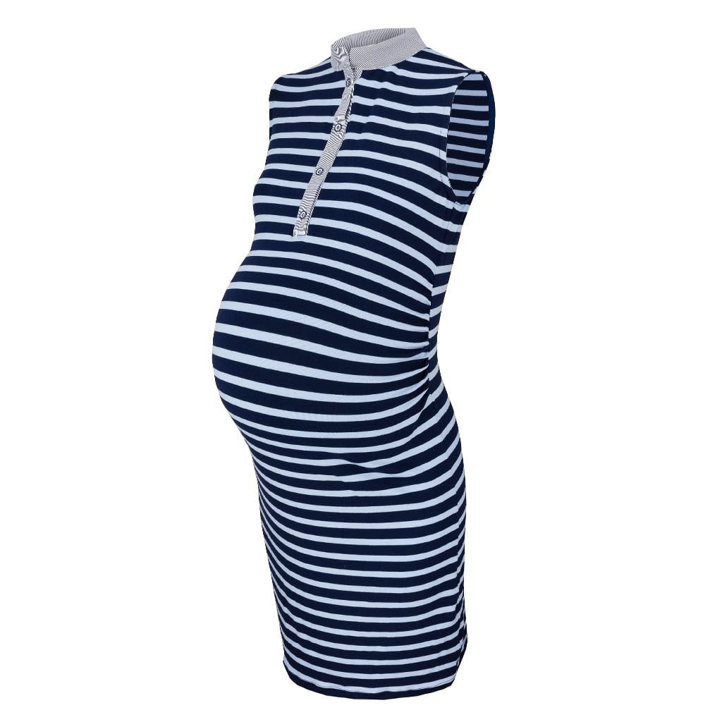 Trudnička haljina bez rukava Work Less, vel. 42
