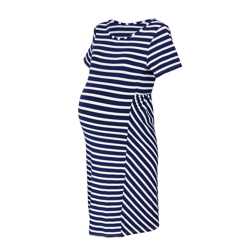 Trudnička haljina kratki rukav Work Less, vel. 36