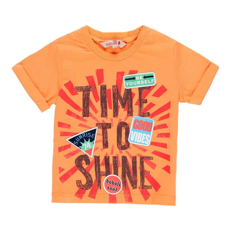 Boboli majica Time to shine