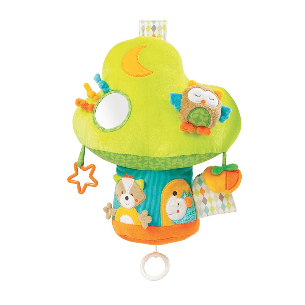 Brevi didaktička glazbena igračka kocka Mushroom