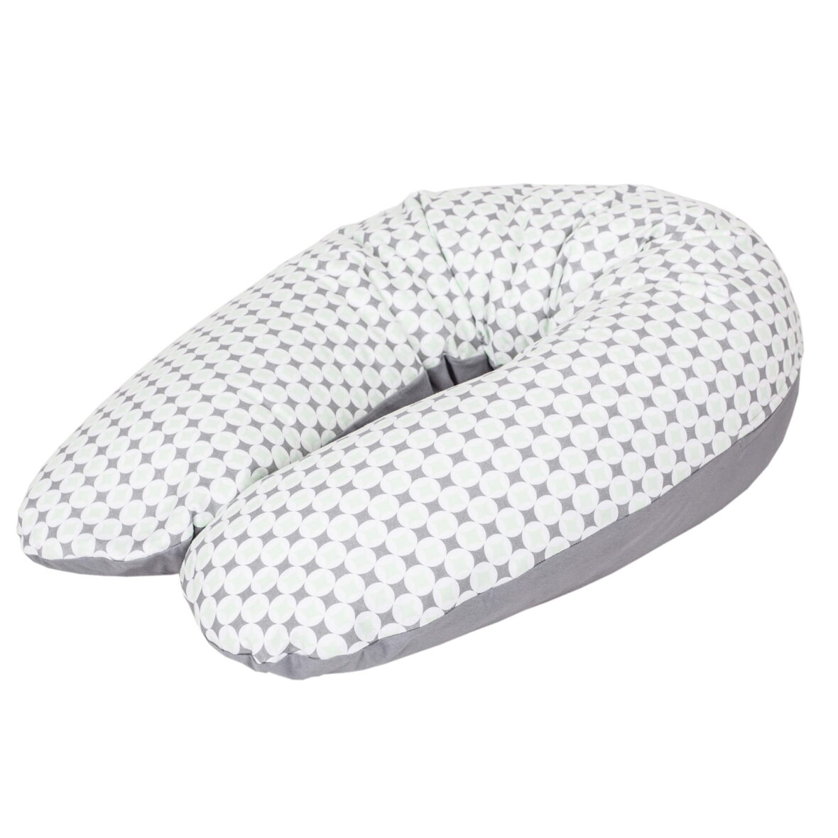 Jastuk za dojenje PHYSIO Multi jersey Diamonds & circles (190×35)