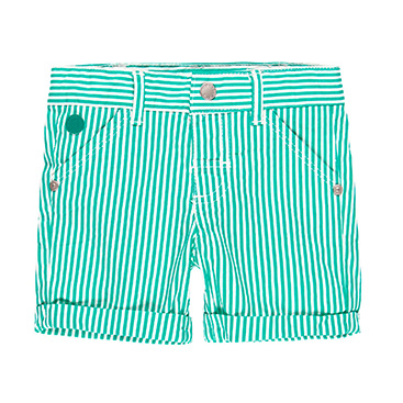 Boboli hlače Pruge zelena