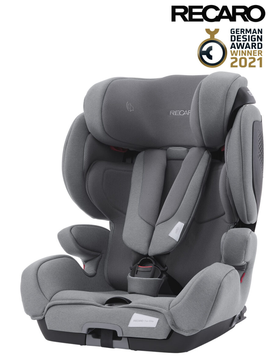 Recaro autosjedalica Tian Elite Isofix Prime Silent Grey grupa 1/2/3 (9-36kg)