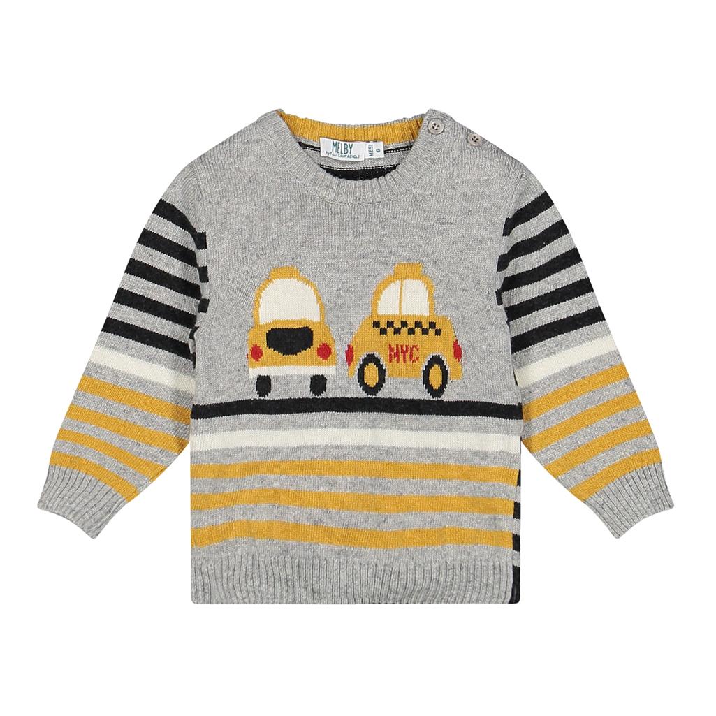 Melby vesta Taxi giallo